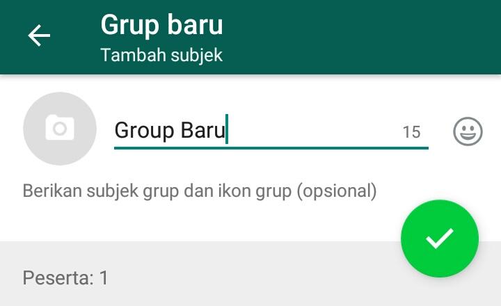 Cara Membuat Group Whatsapp WA Terbaru Di Android