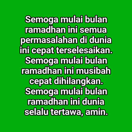 Kata Kata Mutiara Menyambut Bulan Puasa Ramadhan 2021