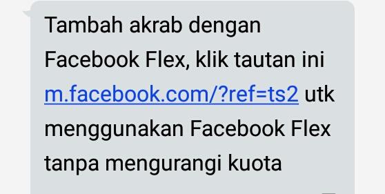 Cara Facebook Gratis Telkomsel Facebook Flex 2021