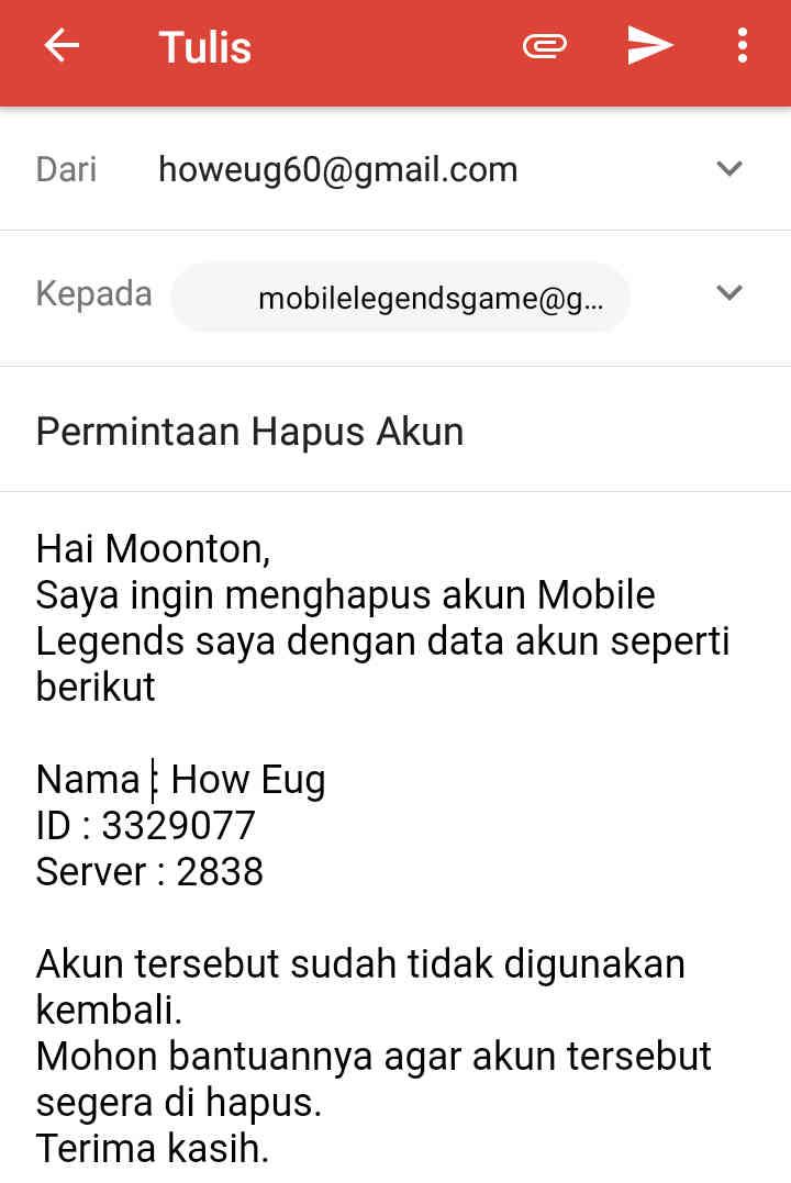 Cara Hapus Akun Mobile Legend Permanen 2021, Dijamin Berhasil