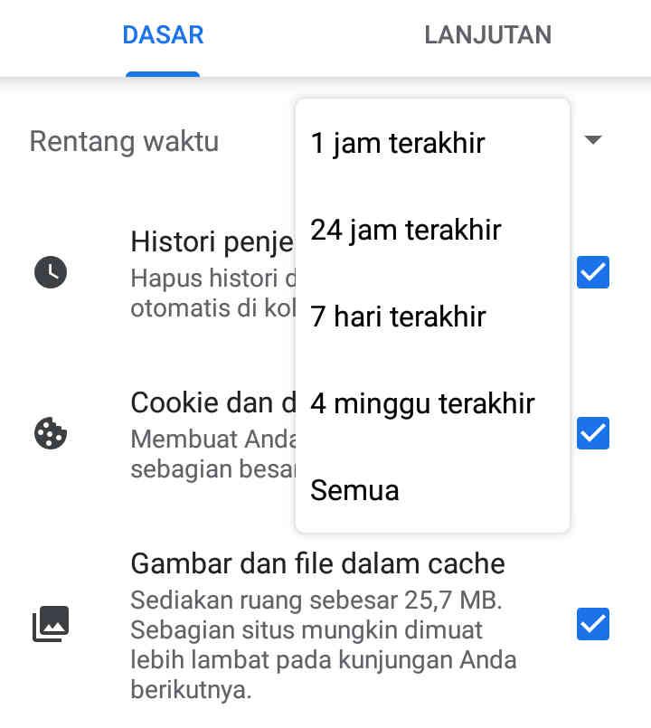 Begini Cara Hapus Cookies Di Chrome Android, Gampang Banget