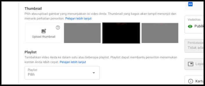 23 Cara Ganti Thumbnail Youtube Lewat Android 2021 Tanpa Aplikasi