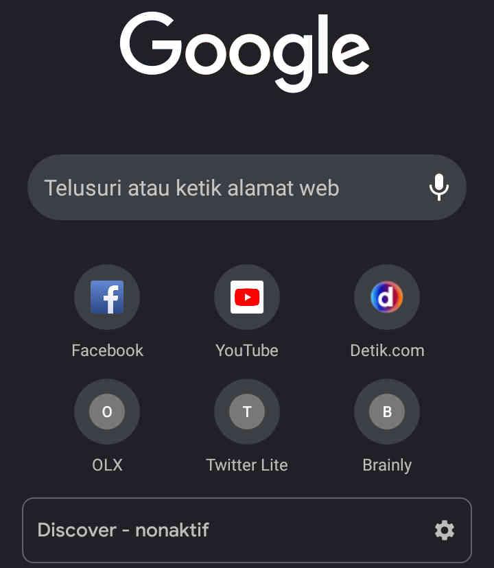 √ 5+ Cara Mengubah Tampilan Google Menjadi Hitam Di Android