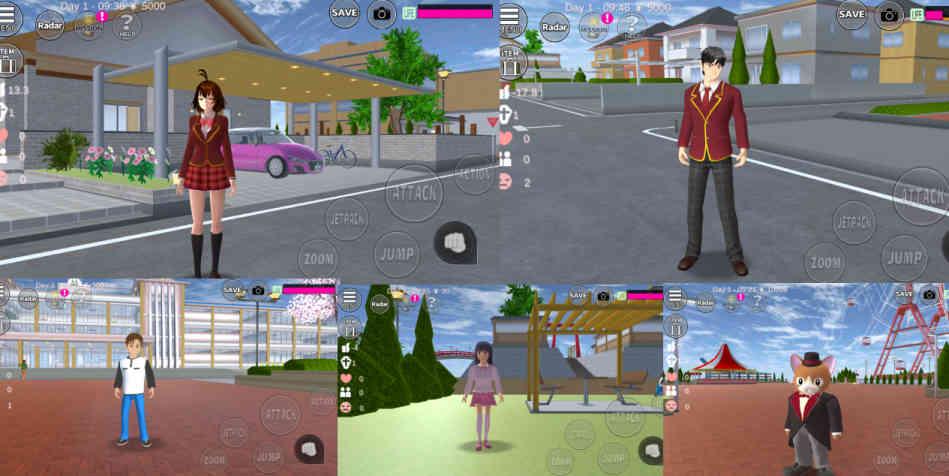 Cara Mengganti Orang Di Sakura School Simulator