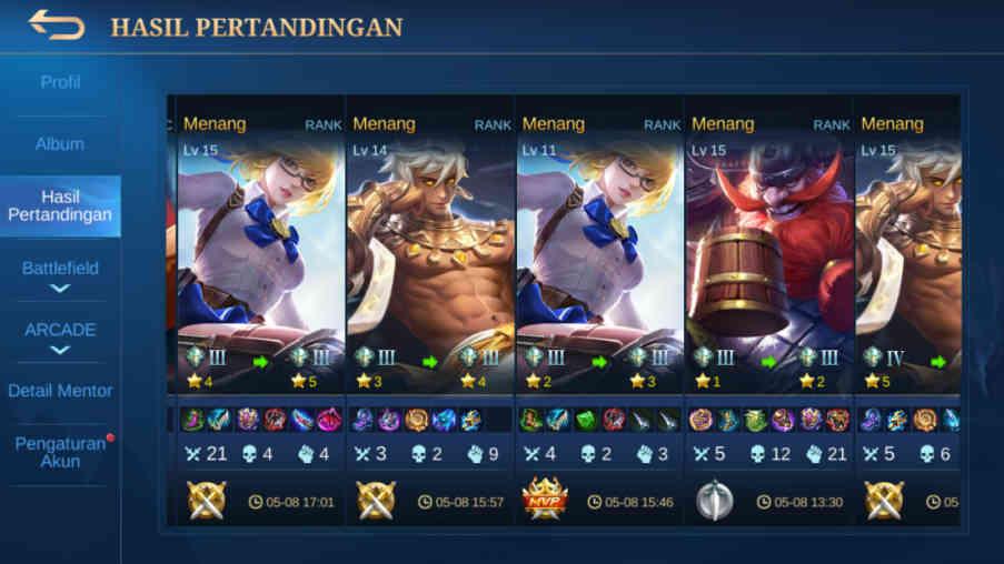 7 Cara Win Streak Mobile Legend Solo Rank 2021, Ezz Banget