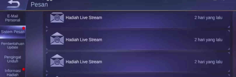 5 Cara Klaim Hadiah Live Stream Mobile Legend, Gampang Banget