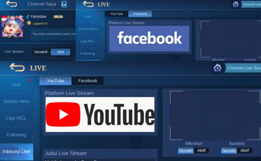 3 Cara Mengaktifkan Live Streaming Mobile Legend 2021, Auto Work