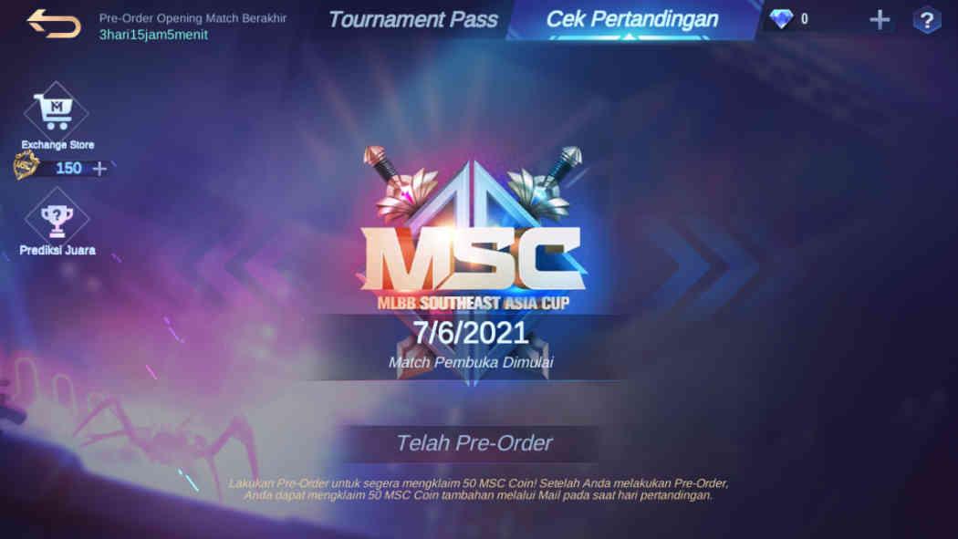 Inilah Kepanjangan MSC Mobile Legend, Kamu Wajib Tahu