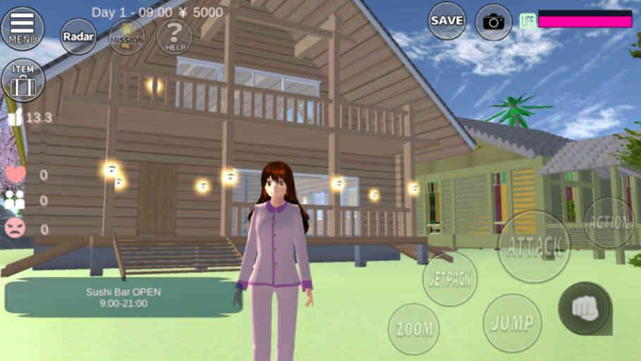 8 ID Rumah Upin Ipin Di Sakura School Simulator